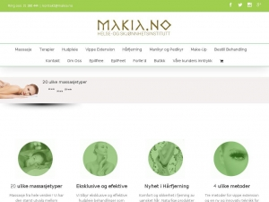 Makia - professional beaty salon in Oslo